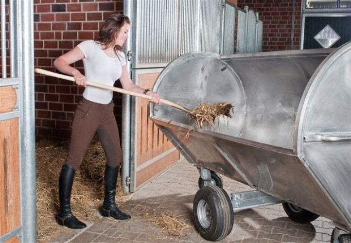 Stainless steel  manure wagon