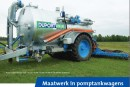 Pump tanker 4-in line
