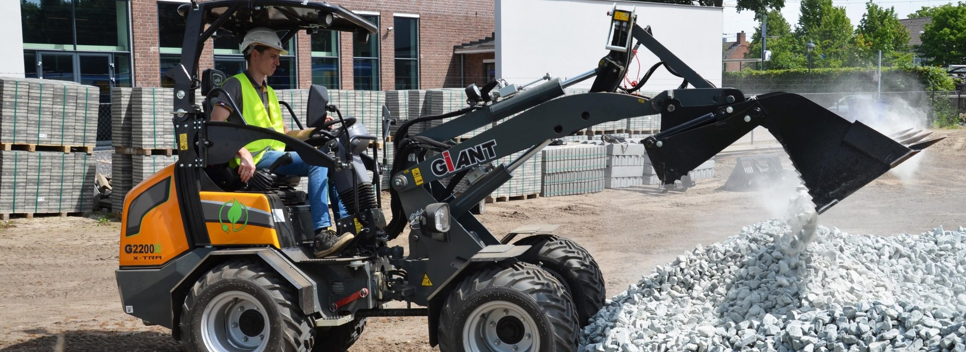 Giant G2200E (Electric shovel)