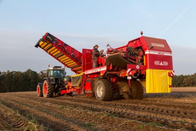 SE 260 Harvesting technology 2-row