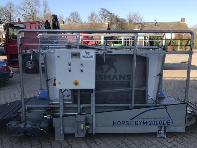 Horse Gym 2000 trainingsband / loopband demo model